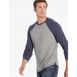 Saturday Stretch Colorblock Tee   Lucky Brand