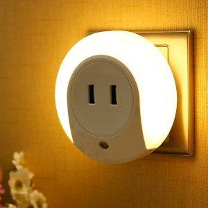 $10.92WisHome LED 小夜灯带USB充电