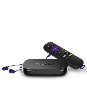 Roku Premiere+ Wi-Fi 4K UHD HDR Upconverting Media Streamer with HDMI Cable and - 8363951 | HSN