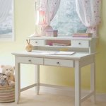 Naples White Student Desk and Hutch by Home Styles