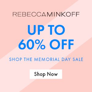 Up to 60% OffThe memorial day Sale @ Rebecca Minkoff