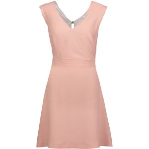 Rozo cutout crepe mini dress