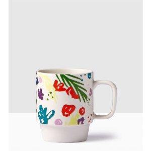 Floral Handle Mug