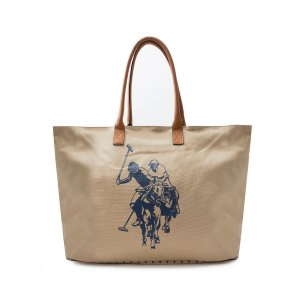 BRANDED CANVAS TOTE - U.S. Polo Assn.