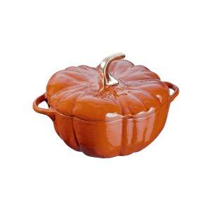 Cast Iron 3.5QT Pumpkin Cocotte by Staub at Gilt