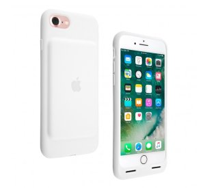 Apple iPhone 7 Smart Battery Case (White)