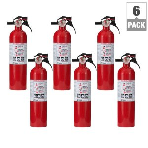 Kidde 1-A:10-B:C Fire Extinguisher (6-Pack per Case)-21027405 - The Home Depot