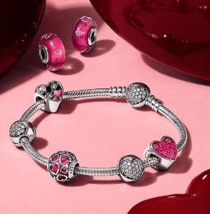 低至3.4折+$7.99起!樱花、星座串珠也有哦!Rue La La精选Pandora潘多拉项链、耳钉、手链等热卖