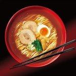 Nissin RAOH Ramen Noodle Soup, Umami Soy Sauce, 107 Gram (Pack of 10)