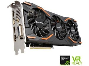 $489.99GIGABYTE GeForce GTX 1080 WindForce 3 OC 8GB Graphic Card