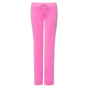 LOGO VELOUR BORN GLAMOROUS DEL REY PANT - Juicy Couture