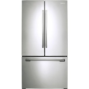 Samsung 25.5 Cu. Ft. French Door Refrigerator with Internal Water Dispenser Silver RF261BEAESR - Best Buy