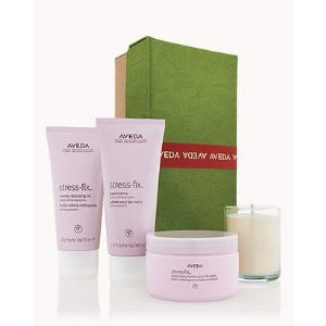 an escape from stress is a gift | Aveda