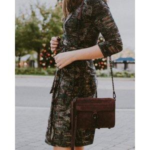 Abbeline Mini Wrap Dress