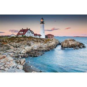 【缅因阿卡迪亚】超值度假3天:波特兰灯塔+酒吧港+龙虾+水族馆