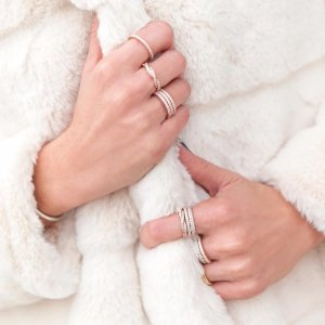 $19.99起收纯银戒指Pandora 潘多拉戒指热卖