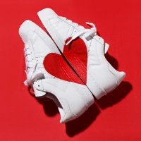 Adidas Superstar 80s Half Heart 情人节限定款小白鞋