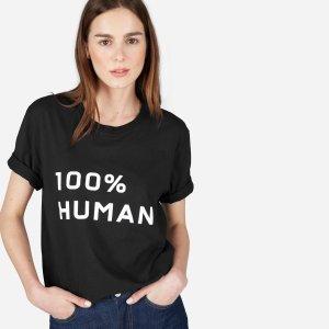The 100% Human Unisex Crew in Medium Print | Everlane