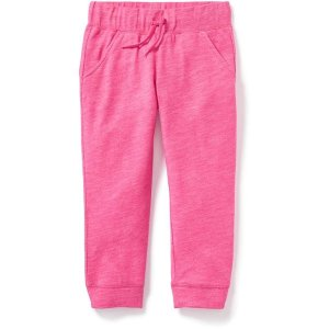Relaxed Cropped Joggers for Girls