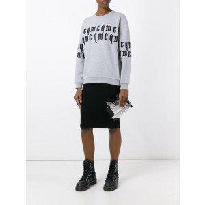 McQ Alexander McQueen Goth Logo Sweatshirt