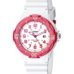 Casio Sports 3-Hand Analog White Dial Women's Watch #LRW200H-4BV