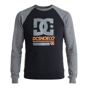 Men's DC Rail Raglan Sweatshirt 888327730875 | DC Shoes