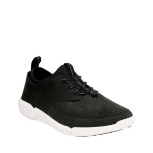 Triflow Form Black Nubuck - Mens Shoes with Ortholite Technology - Clarks® Shoes Official Site