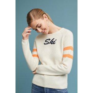 Ski Embroidered Pullover