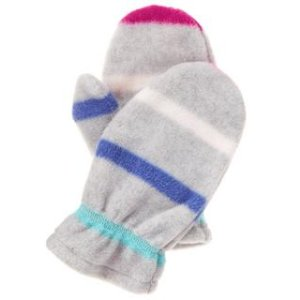 Stripe Microfleece Mittens at Crazy 8