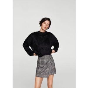 Textured mohair-blend sweater - Women | MANGO USA