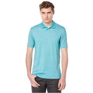 Short Sleeve Jacquard Placed Polo