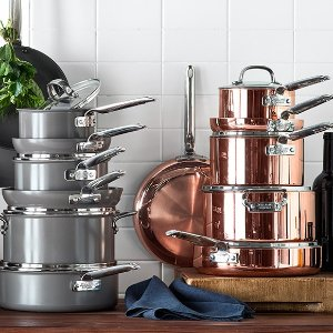 Last Day For Free Shipping All Orders  + Up to 50% OffSelect Cookware and more @Williams Sonoma