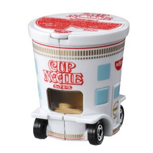 Cup Noodle Toy Car