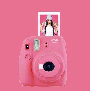 全新开卖,立减$15!新品罕见折扣!富士Fujifilm Instax Mini 9 迷你拍立得相机(三色可选)