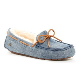 UGG Australia | Dakota Washed Denim UGGpure(TM) Lined Driver | Nordstrom Rack