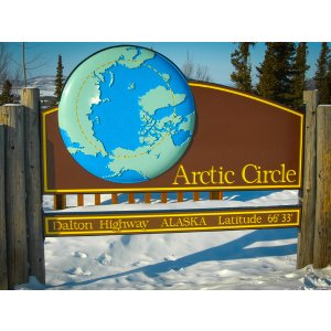 6 Day Tour to Fairbanks, Aurora Observation, Land across the Arctic Circle, 66°N Aurora camp