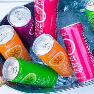 $11.69 包邮IZZE 气泡果汁 24罐 4种口味