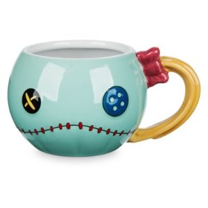 Scrump Sculptured Mug - Lilo & Stitch