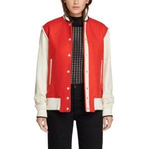 Edith Varsity Jacket | rag & bone