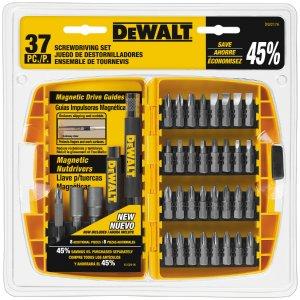 $9.98DEWALT 37-Piece Screwdriver Bit Set