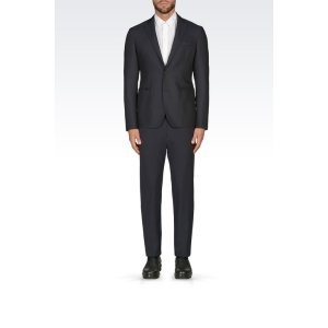 Emporio Armani Men Two button jacket, Virgin Wool - Armani.com