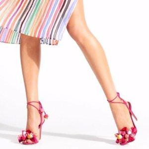 低至3.5折+额外8折折扣升级: Aquazzura美鞋热卖 $289收经典绑带鞋