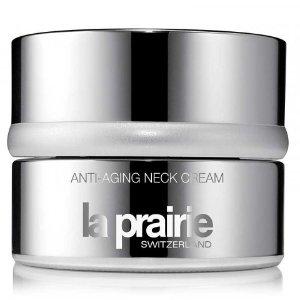 Anti-Aging Neck Cream Luxury cosmetics including La Mer, Tom Ford, Jo Malone London, Sisley-Paris, and Natura Bissé