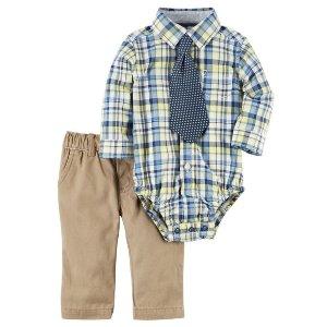 Baby Boy 3-Piece Dress Me Up Set   Carters.com