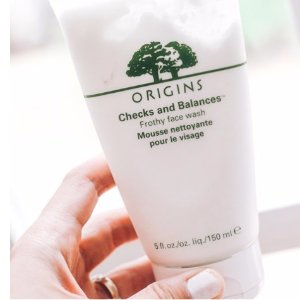 Dealmoon Exclusive! $20 off $45 + free gift With CHECKS AND BALANCES™ FROTHY FACE WASH