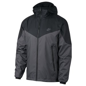 Nike Windrunner Packable Jacket - Men's - Casual - Clothing - Black/Dark Grey Heather