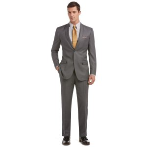 Joseph Slim Fit Two-Button Suit with Plain Front Trousers CLEARANCE - All Clearance   Jos A Bank