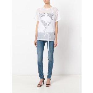 Off-White 'working Girl' Sheer T-shirt
