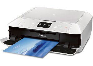 Refurb CANON MG7520 Wireless Color Cloud Printer with Scanner and Copier