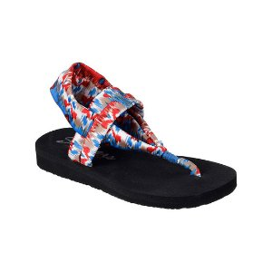 Skechers Red & Blue Meditation Fruition Sandal | zulily